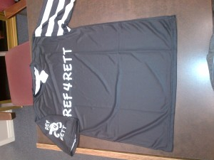 Custom Ref4Rett Jersey for the Walter Gretzky Street Hockey Tournament